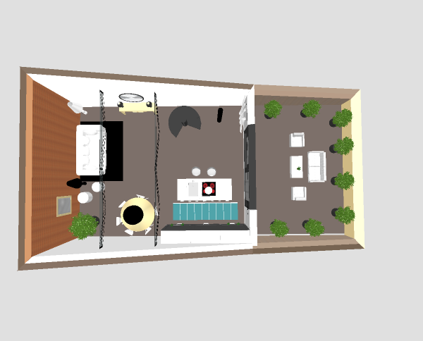 vivre dans une grange plans 3d. Black Bedroom Furniture Sets. Home Design Ideas