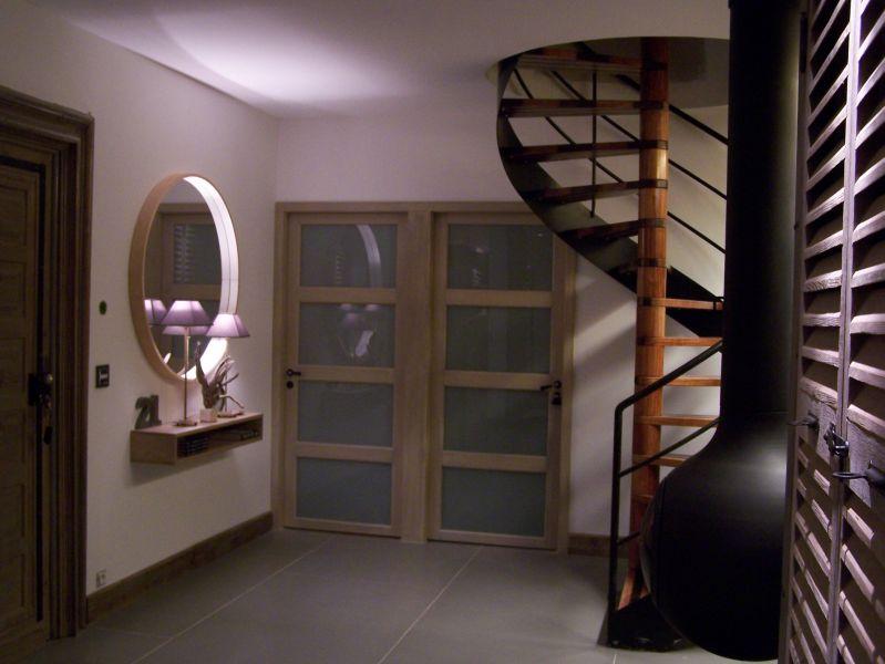 portes des chambres patinées